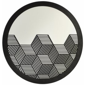 1. Miroir Cube Noir, Tendl