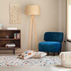 Tapis Coton Lavable en Machine Terrazzo Marble