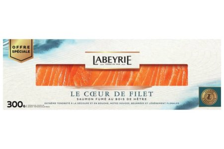 Saumon fumé cœur de filet, Labeyrie