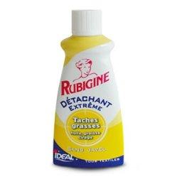 Tâches grasses, Rubigine