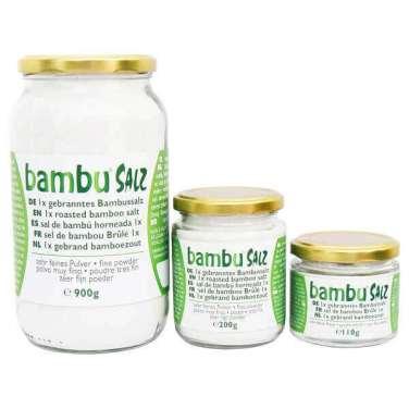 Amanprana, sel de bambou, très fin