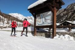 Ski de fond. ©Vallée d'Aoste Tourisme