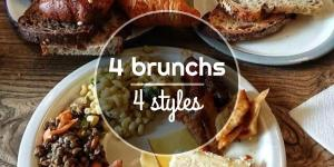 4 brunchs, 4 styles