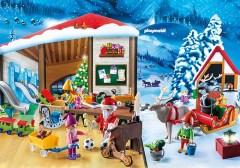 6. Calendrier de l'Avent La Fabrique du Père Noël, Playmobil