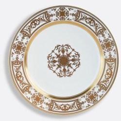 Assiette à dessert Aux Rois Or, Bernardaud