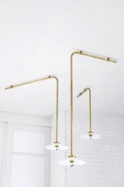 3. Plafond N°1 en laiton Muller Van Severen, Valerie Objects