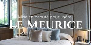Read more about the article Mise en beauté pour l'hôtel Le Meurice