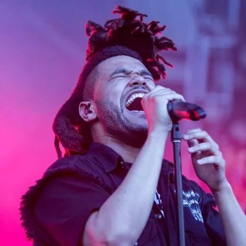 Les dreadlocks de The Weeknd