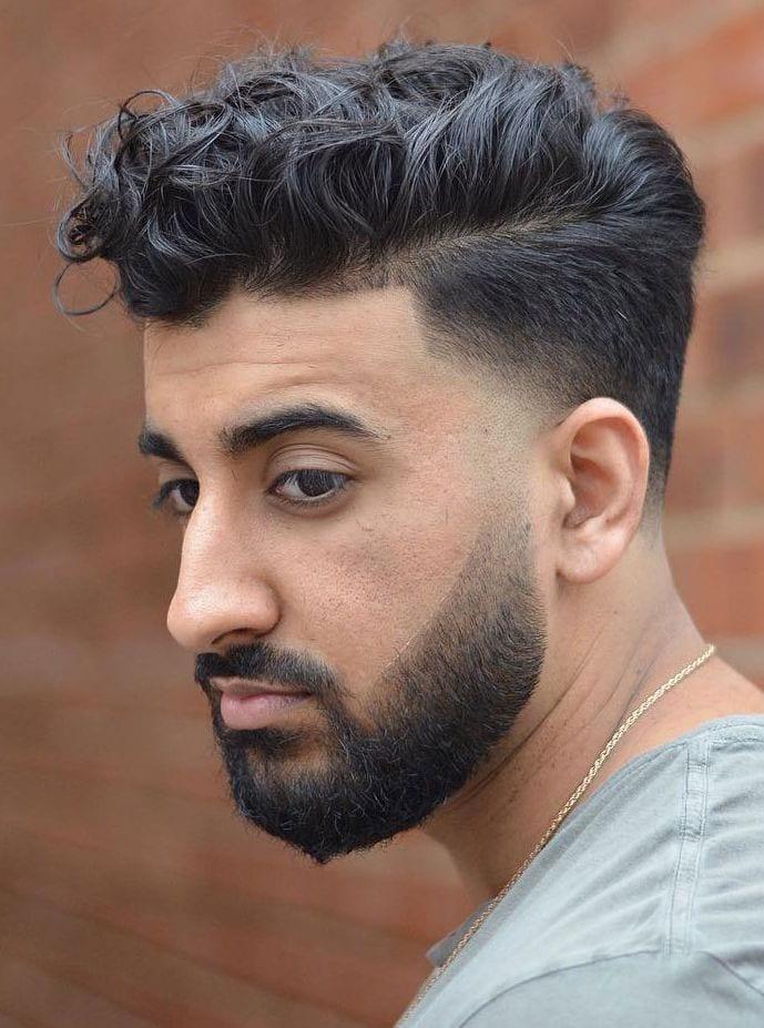 Coiffures Cheveux Bouclés pour Homme 31