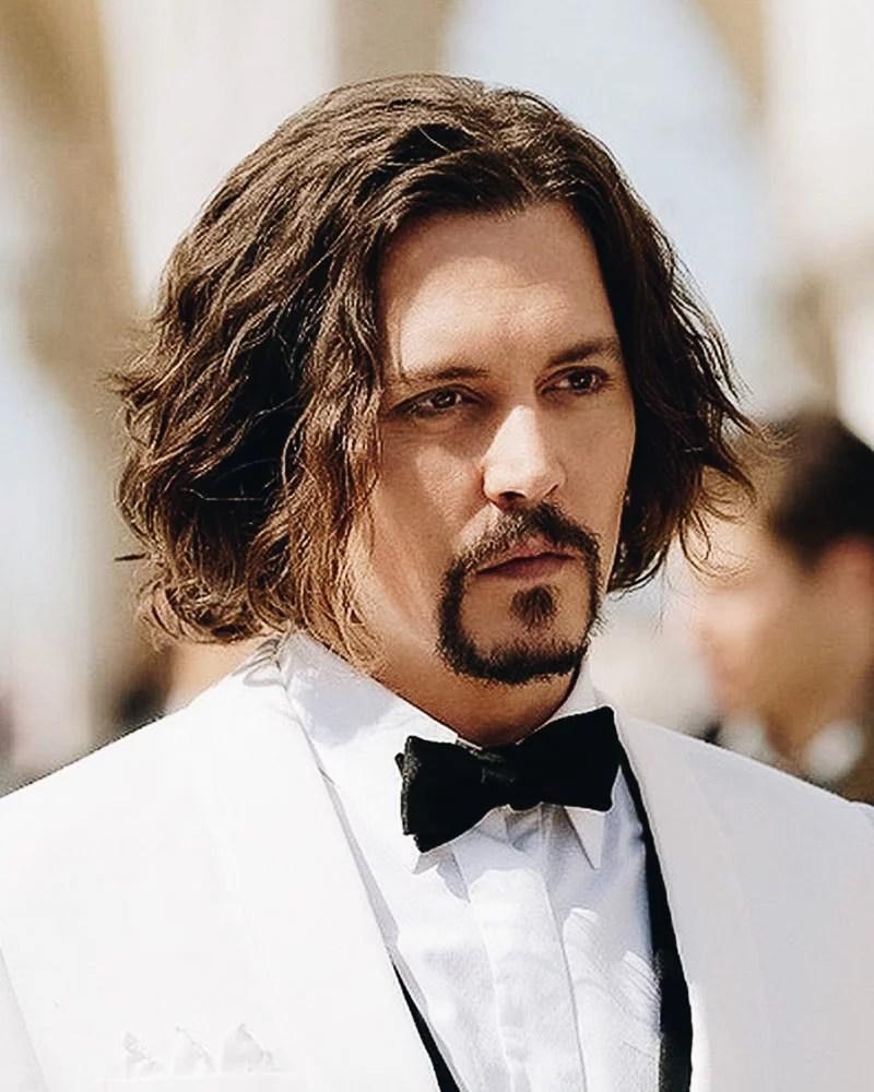 les meilleures coiffures mi longues hommes naturels ondulés