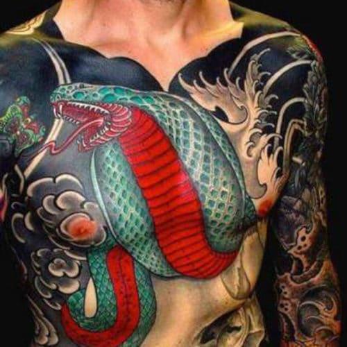 tatouage poitrine uakuza