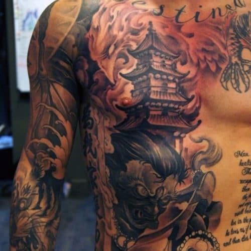 tatouage torse inspiration