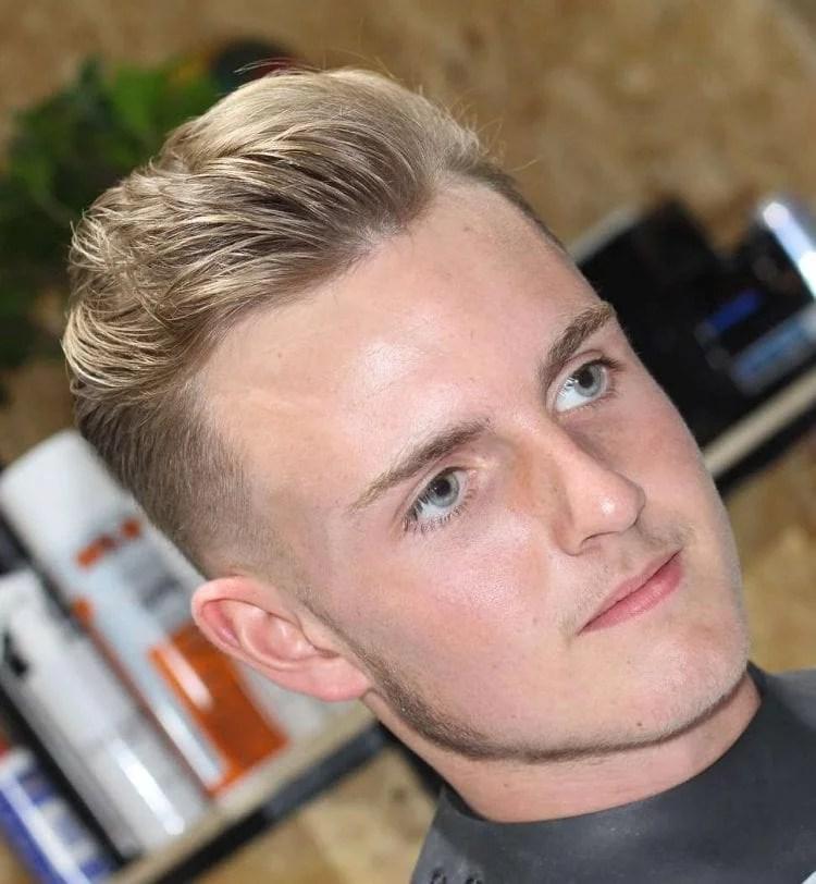 Idées de coiffures pour blonds 12