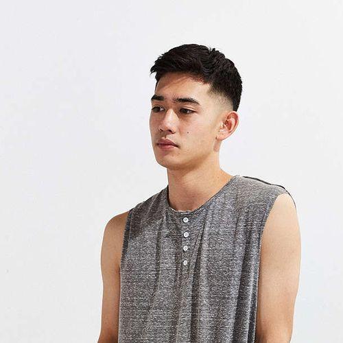 idées de coupes et coiffures pour Homme Asiatique 17