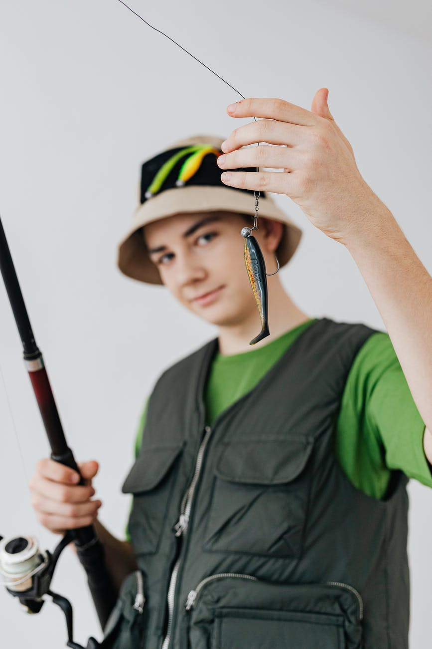chapeaux et casquettes de pêche