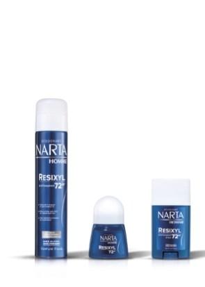 NARTA RESIXYL 72H Homme 3 produits BD