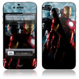 coque iphone iron man