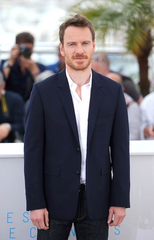 "CANNES, FRANCE - MAY 23:  Michael Fassbender attends the ""Macbeth"" Photocall during the 68th annual Cannes Film Festival on May 23, 2015 in Cannes, France.  (Photo by Mike Marsland/WireImage)"