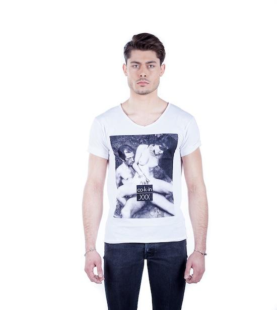 co-k-in-men t shirt