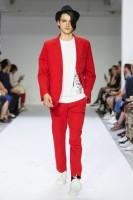 Costume rouge agnes b