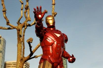 iron man in paris