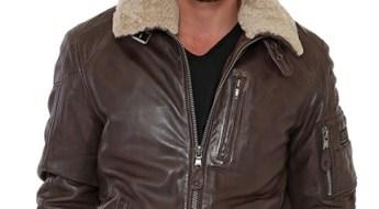 Blouson cuir aviateur Redskins