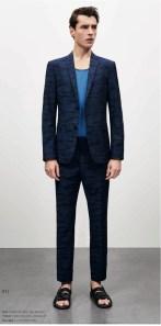 costume bleu