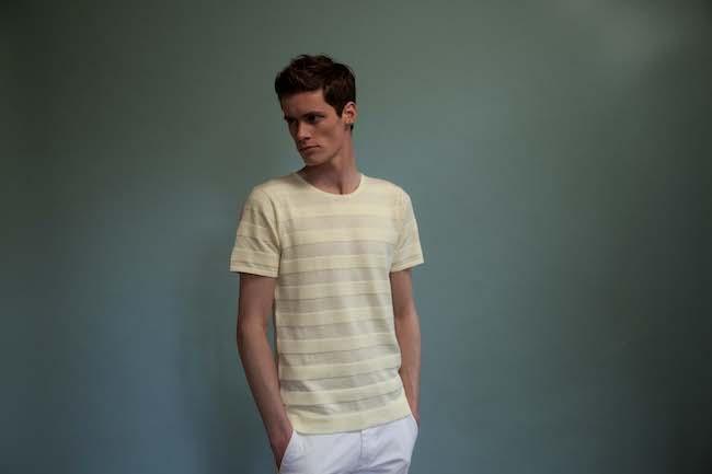 T-shirt jaune Montagut