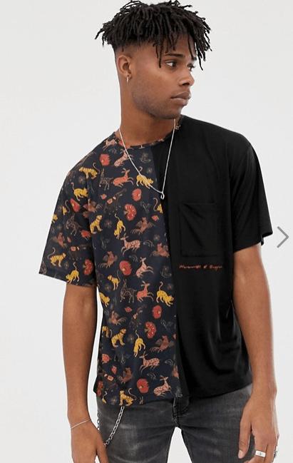 Tee shirt Heart & Dagger chez Asos