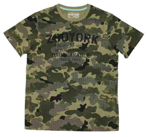 T-shirt zoo york camouflage