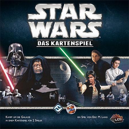 Spieleverpackung für das Star Wars Kartenspiel