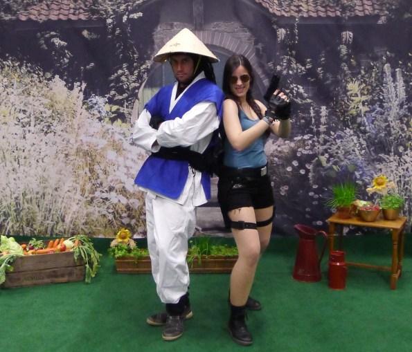 Raiden und Lara Croft, kurz: Tomb Raiden
