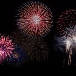 Feuerwerk Party
