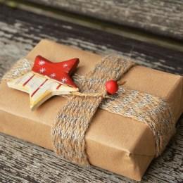 eingepacktes Geschenk