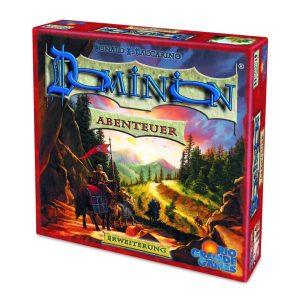 Cover von Dominion Abenteuer: Reiter vor bergigem Hintergrund
