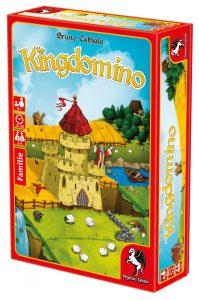 Cover von Kindomino: Burg mit Landschaft