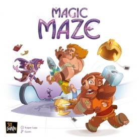 Cover von Magic Maze: Abenteurer rennen mit Diebesbeute weg