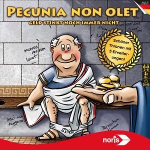 Cover von Pecunia non olet: Römer auf Donnerbalken
