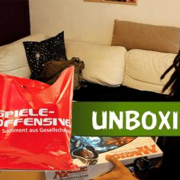 Vorschaubild des Youtube-Videos: Alexej und Chris vor geöffneter Kiste