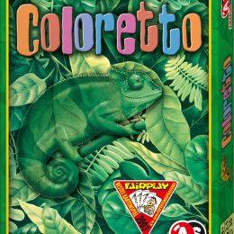Spielepackung von Coloretto: Chamäleon