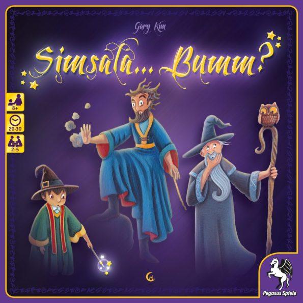 Cover von Simsala Bumm: Drei Magier | Bildquelle: Pegasus Spiele
