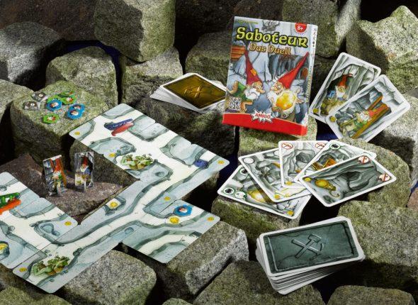 Spielsituation von Saboteur - Das Duell | Bildquelle: Amigo