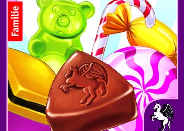 Coverausschnitt von Candy Match: Gummibärchen, Schokolade, Bonbon usw.