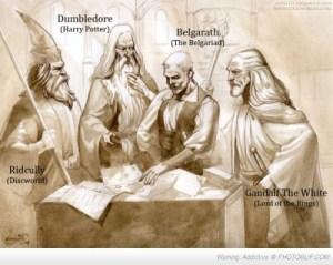 Dumbledore gandalf Belgarath