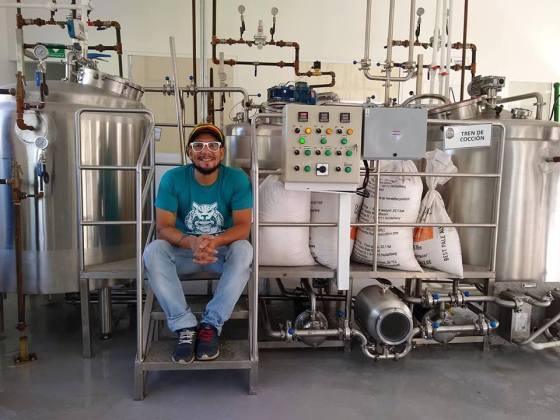 Krispin García. Cervecería Artesanal Apache. Colombia.