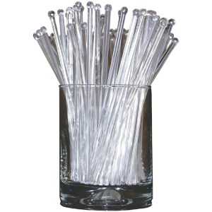 Transparent Plastic Stirrer