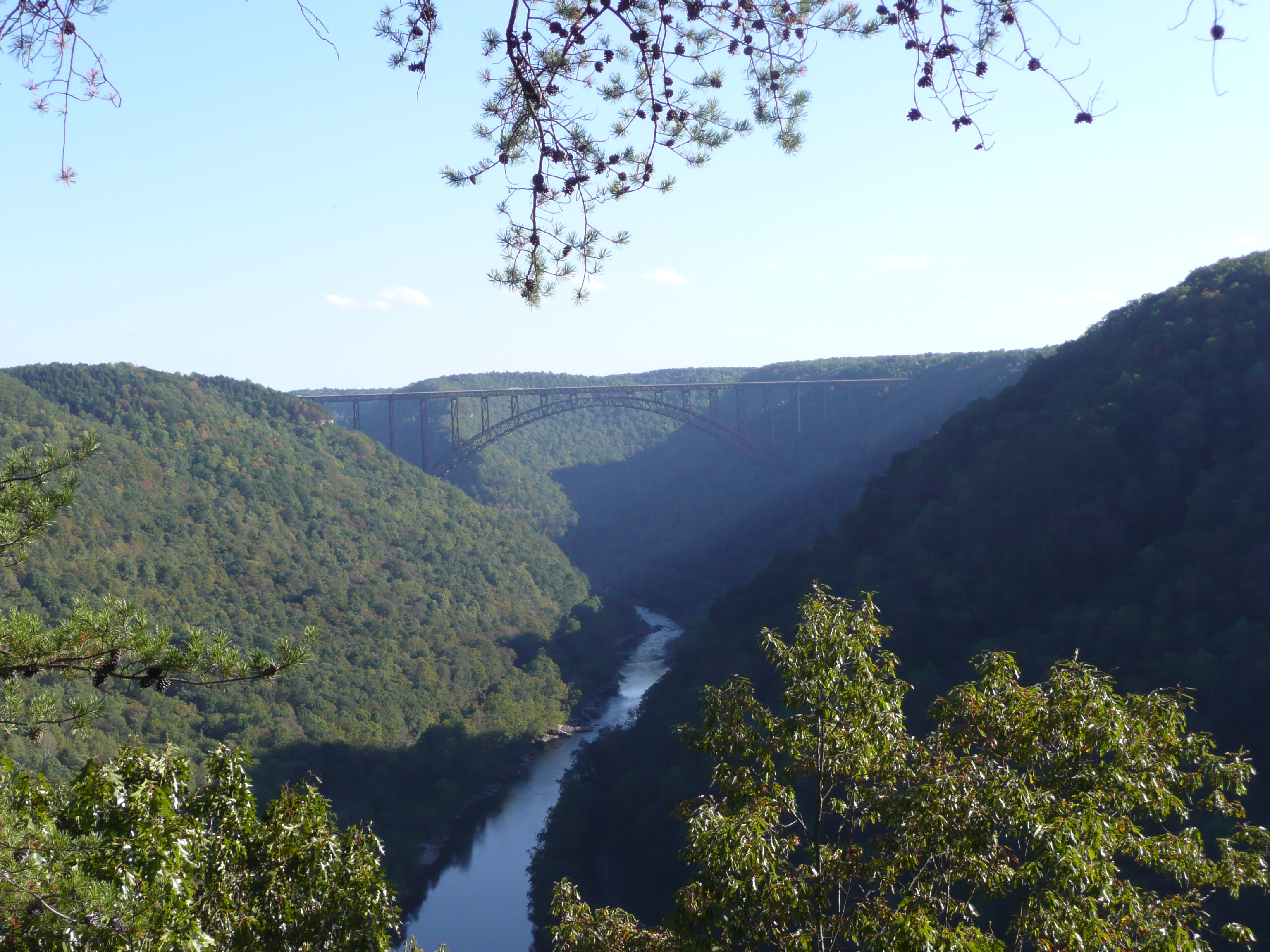 New River Gorge bridge view