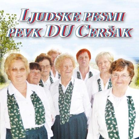 Pevke Ceršak, naslovnica CD-ja