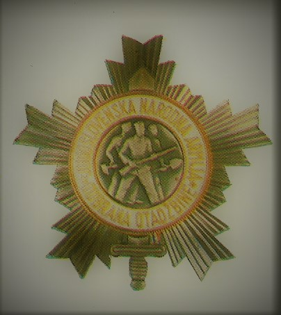 020 Order of the human army with a silver star