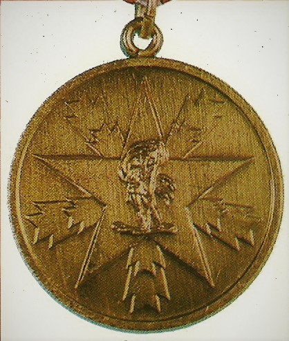 032 Medal merits for the people